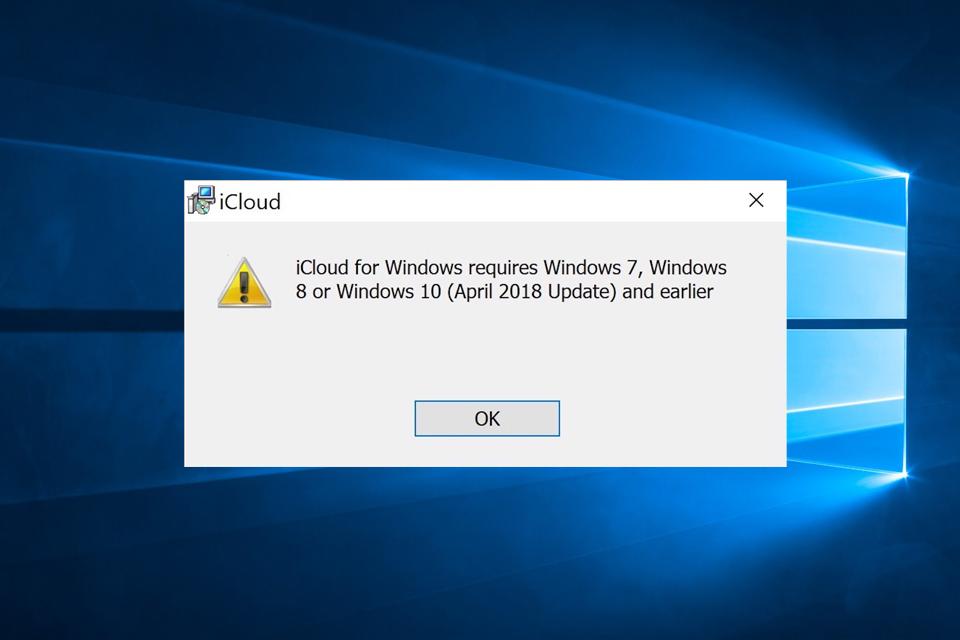 October 2018 Update ยังมีบั๊ก! ใช้งาน iCloud ไม่ได้!