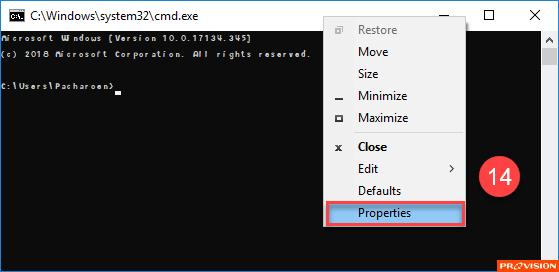ฟอนต์ใน Command Prompt/Windows PowerShell ดูแปลกไป เปลี่ยนก็ไม่ได้ ทำไงดี?